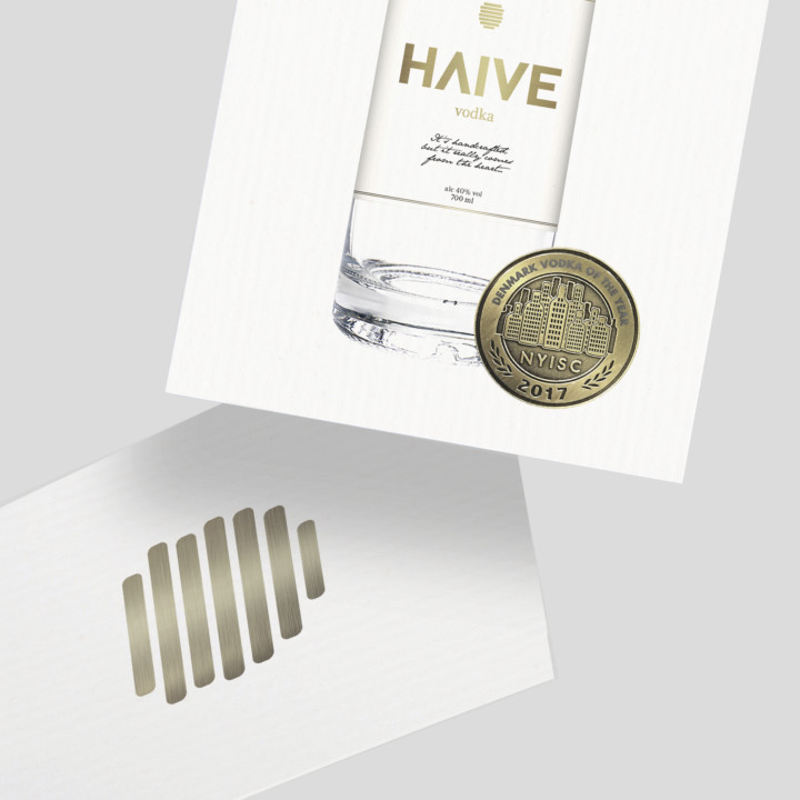 Haive Vodka emballagedesign