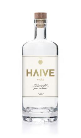 Haive Vodka Flaske Design