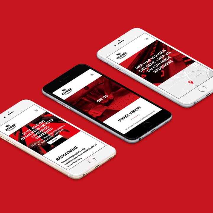 Bannerkompagniet iPhone Mockup