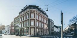 Visuel identets arkitekturfotografi til GKV arkitekters nye hjemmeside designet af ON!AD grafisk design bureau i Aarhus