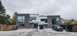 Foto af arkitektprojekt i Aarhus. Arkitektfoto taget af ON!AD Grafisk design bureau