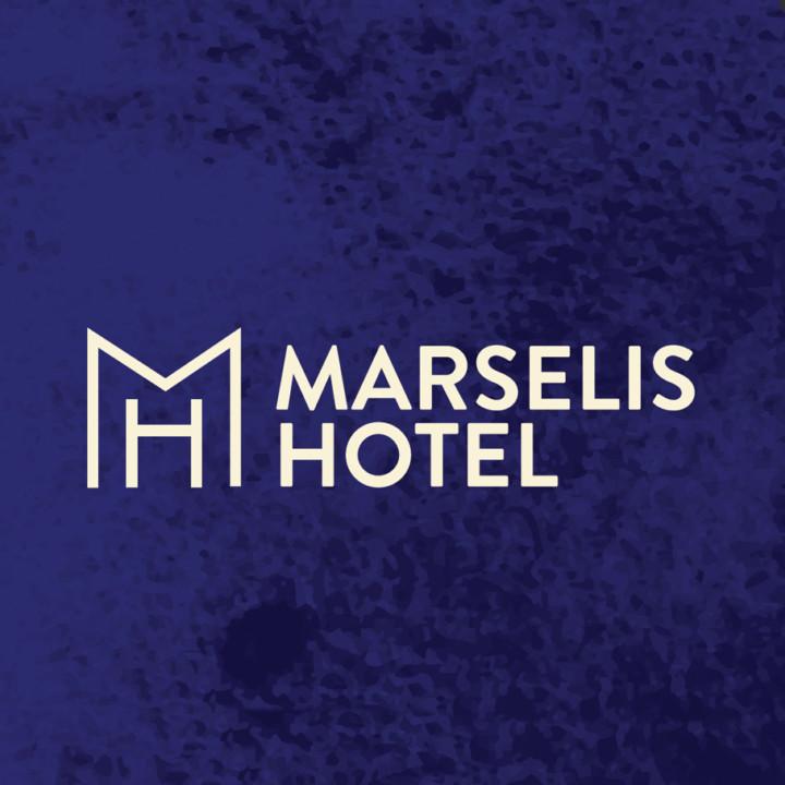 Helnan Marselis Hotel Logo lavet af ON!AD