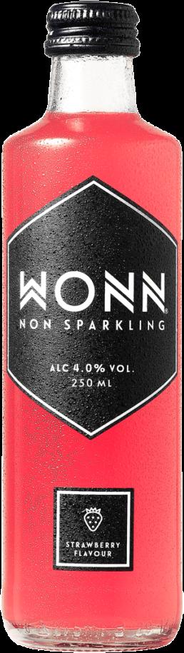 Produktdesign og etiketdesign til WONN's nye drik, designet af ONAD, Aarhus