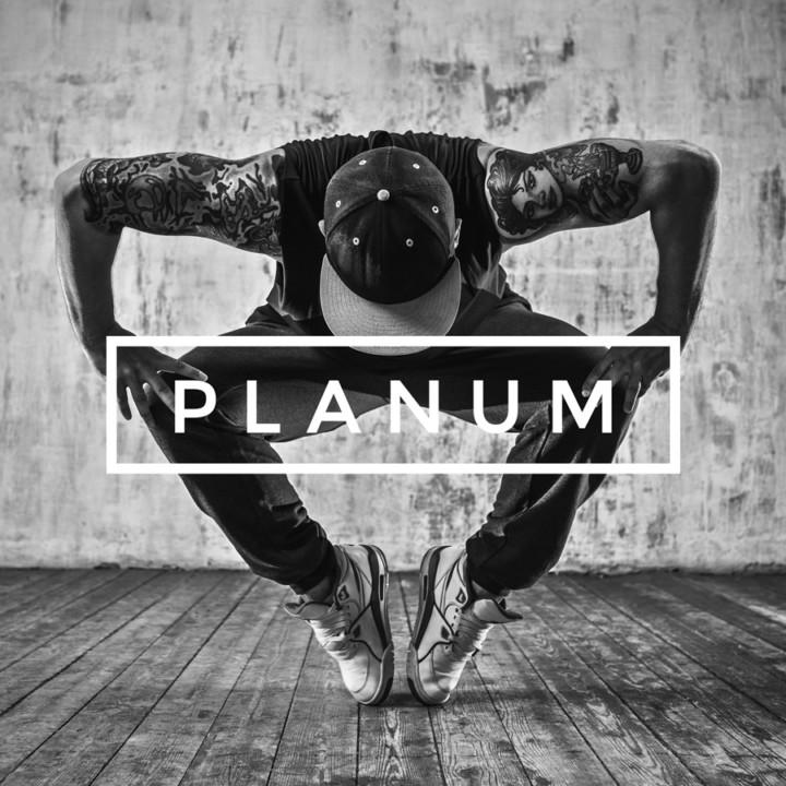 Grafisk logodesign for Planum dance studios, designet af ONAD