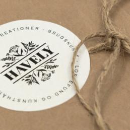 Havely sticker design