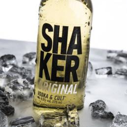 Foto af SHAKER i is ON!AD har taget produktfoto
