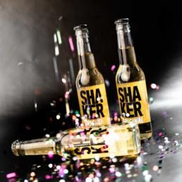 Shaker produkt emballage design af onad grafisk bureau aarhus