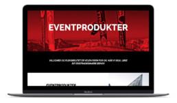Ny hjemmeside og visuel identitet designet af ON!AD grafisk design bureau