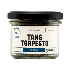 Tang tørpesto emballage design
