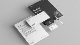 Brevlinje for Ministry of Snus - designer af ON!AD