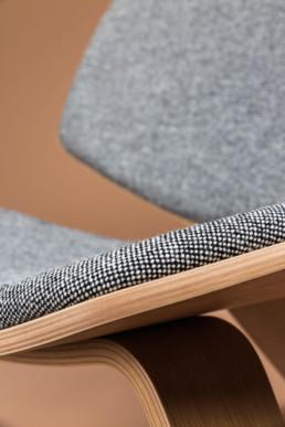 close op foto af stol